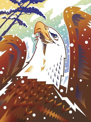 New Eagle Giclee Print