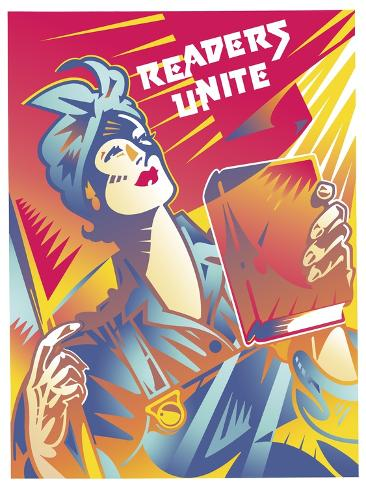 Readers Unite Giclee Print