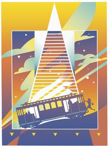 San Francisco Giclee Print