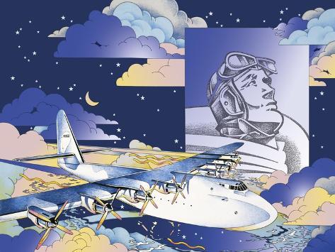 Spruce Goose Giclee Print