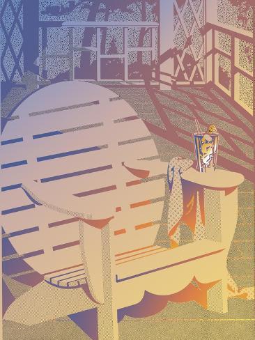 Summer Porch Giclee Print