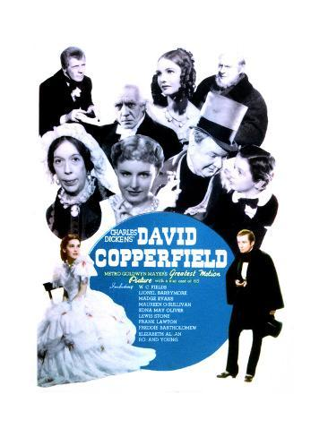 David Copperfield - Movie Poster Reproduction Art Print