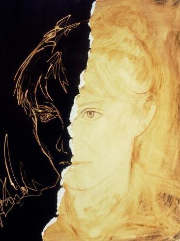 Artist's Abstract Depiction of Schizophrenia Photographic Print