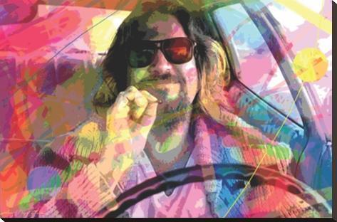 David Glover- The Dude Impressão em tela esticada