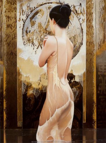 Rosee celeste Art Print
