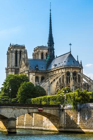 Notre Dame De Paris Cathedral Photographic Print