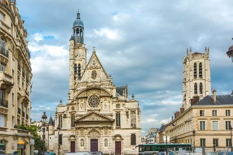 Sainte-Genevieve, Paris, France Photographic Print