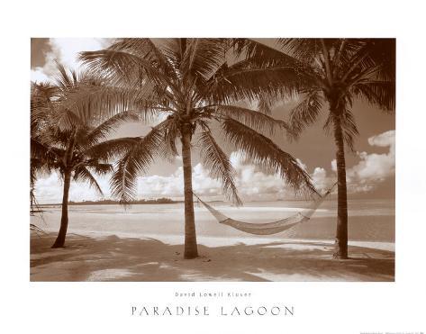 Paradise Lagoon Art Print