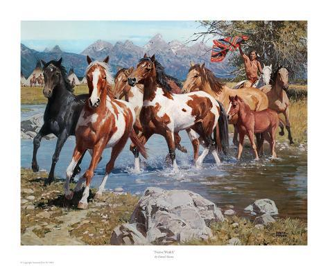 Native Wealth Art Print
