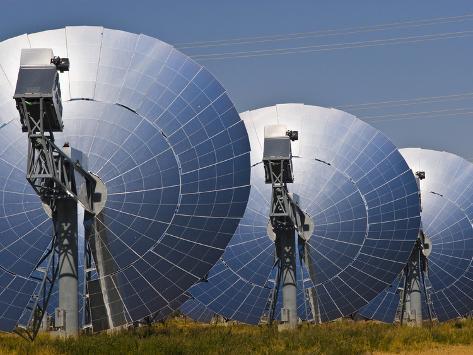 Suncatcher Concentrating Solar Power Plant in Peoria Photographic Print