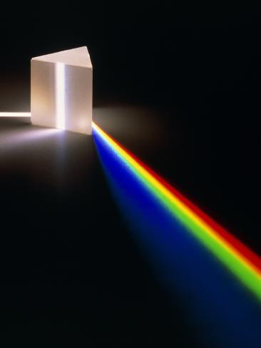 Light Through Prism Photographic Print