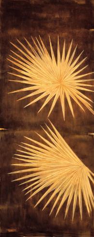 Fan Palm Triptych I Art Print