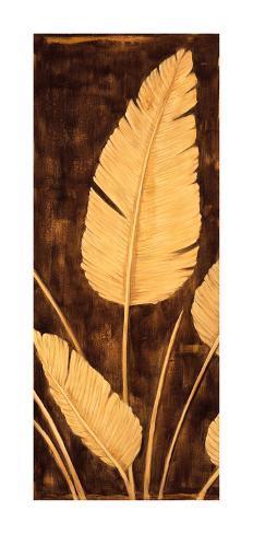 Tropical Palm Triptych II Giclee Print
