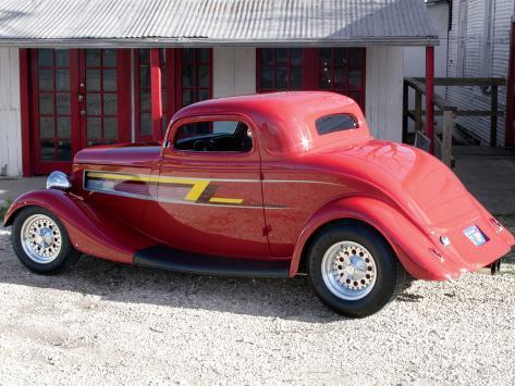 Billy F. Gibbons ZZ Top Car Photographic Print
