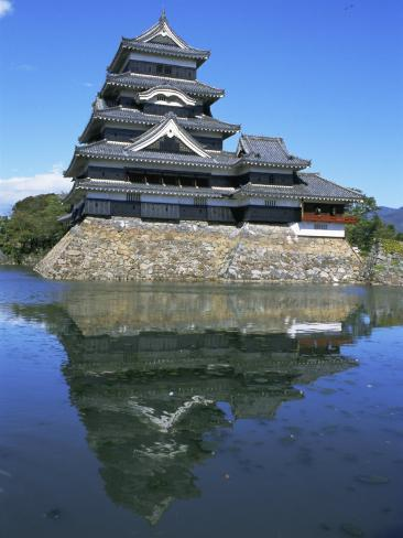Matsumoto-Jo (Matsumoto Castle), Matsumoto, Japan Photographic Print