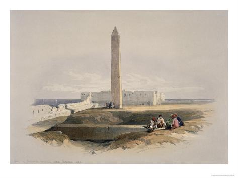 Cleopatra's Needle Giclee Print