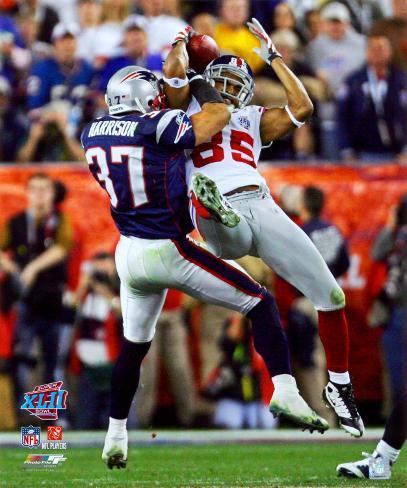 David Tyree - Super Bowl XLII Photo