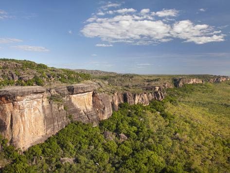Aerial View of Arnhem Land Escarpment, Kakadu National Park, Northern Territory, Australia Photographic Print