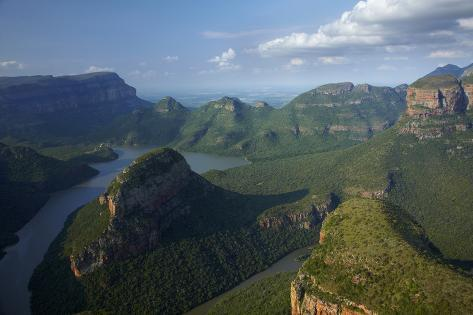 View over Blyde River Canyon, Mpumalanga, South Africa Photographic Print