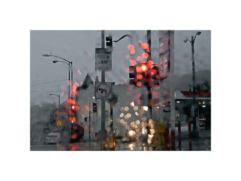 SF Early and Wet Giclee Print