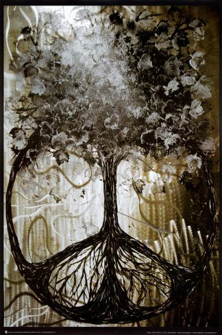 David Wolcott Wilhelm (Tree of Peace) Mounted Print