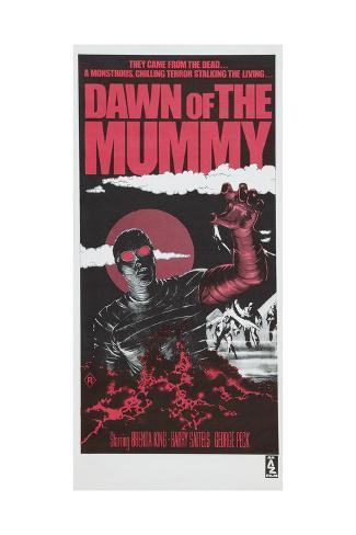 Dawn of the Mummy, Australian poster art, 1981 Impressão artística