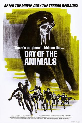 Day of the Animals (aka Something Out There) Art Print