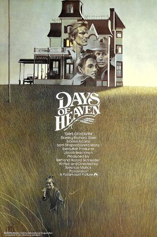 Days of Heaven, 1978 Impressão giclée