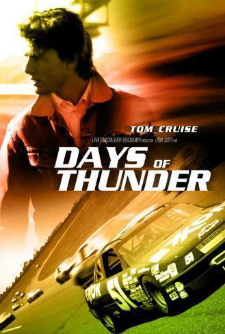 Days of Thunder Poster