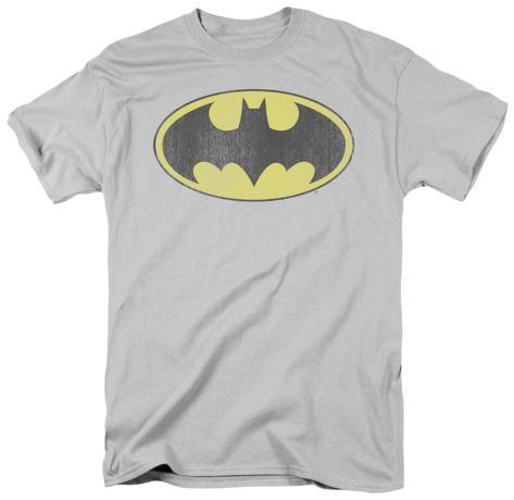 DC Comics - Batman - Retro Logo Distressed T-Shirt
