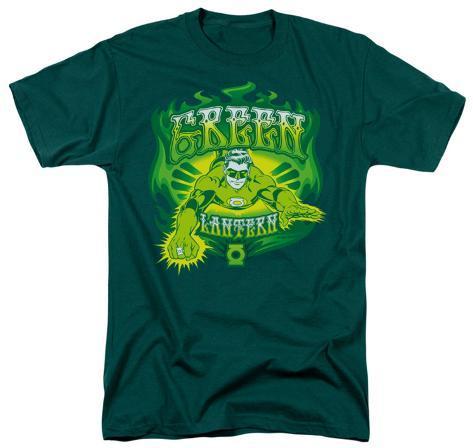 DC Comics - Green Lantern - Flames T-Shirt