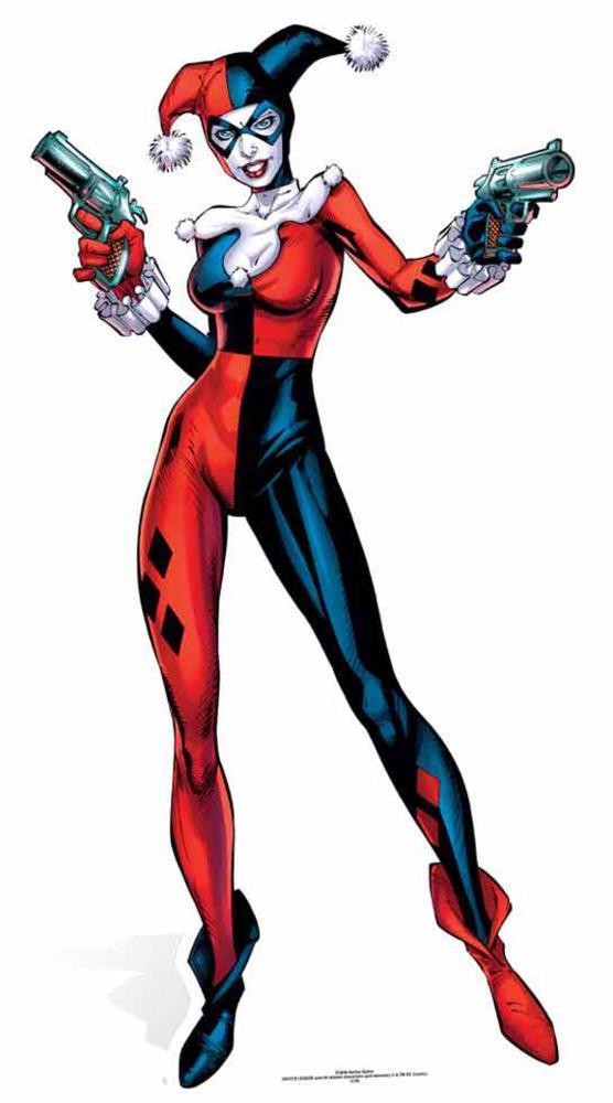 DC Comics Harley Quinn Figura de cartón en AllPosters.es
