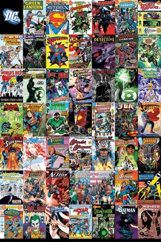 DC Comics – Montage Poster