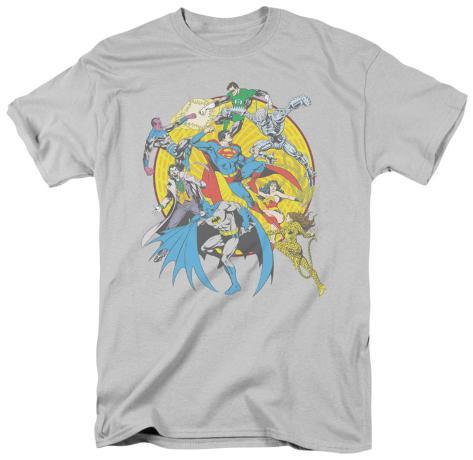 DC Comics - Spin Circle Fight T-Shirt