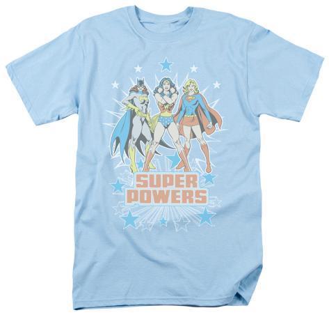 DC Comics - Super Powers Times 3 T-Shirt