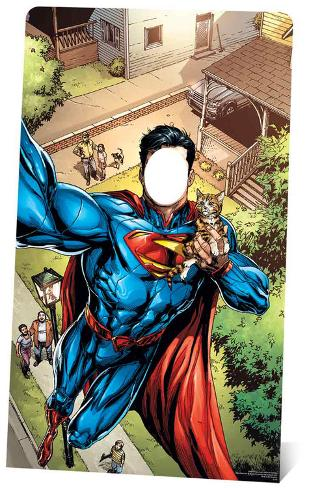 DC Comics Superman Selfie Stand-In Sagomedi cartone