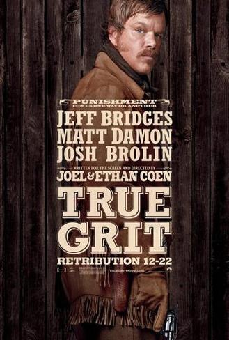 De sammanbitna|True Grit Poster
