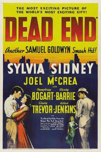 Dead End, 1937 Giclee Print