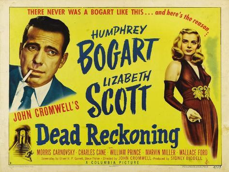 Dead Reckoning, 1947, Directed by John Cromwell Giclee Print