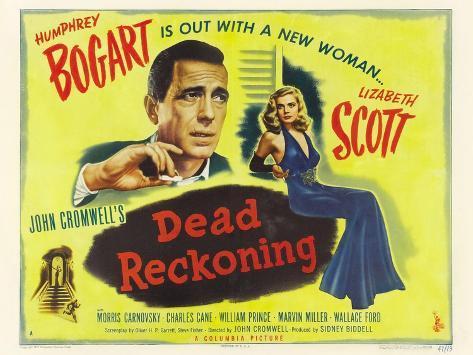 Dead Reckoning, 1947 Konstprint