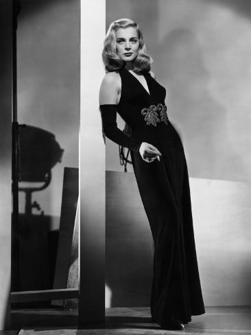 Dead Reckoning, Lizabeth Scott, Modeling a Gown by Jean Louis, 1947 Photo