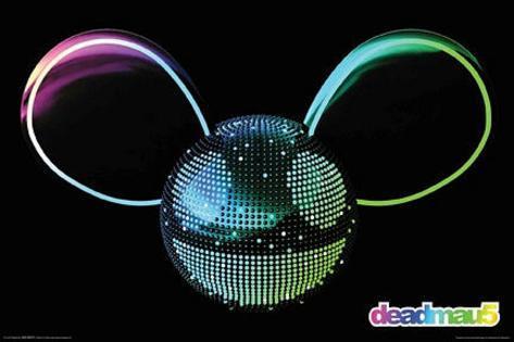 Deadmau5 Logo Poster