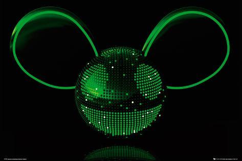 Deadmau5- Neon Poster