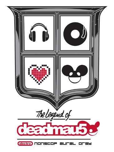 deadmau5, the legend of - Electro -  Nonstop Aural Orgy Premium Giclee Print