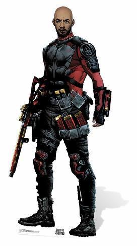 Deadshot (No Mask) - Suicide Squad Cardboard Cutouts