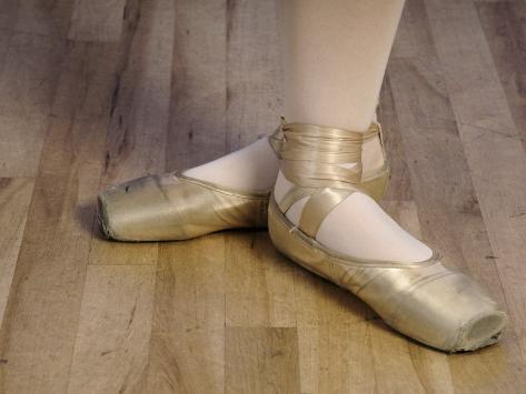 Ballerina's Feet Photographic Print