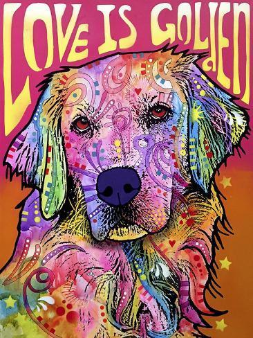 Love is Golden Giclee Print