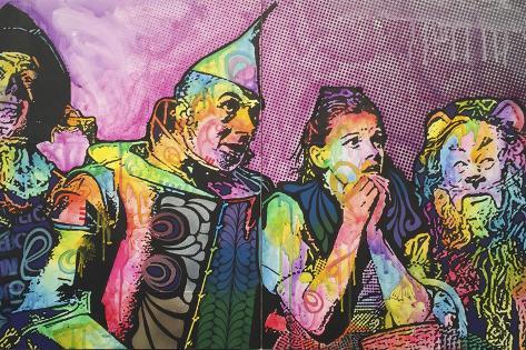 O Mágico de Oz Impressão giclée