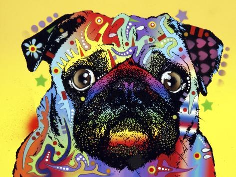 Pug Giclee Print