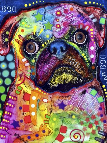 pug by dean russo - Dean Russo